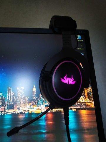 Headset Gamer KP-465 LED 7.1 - Foto 3