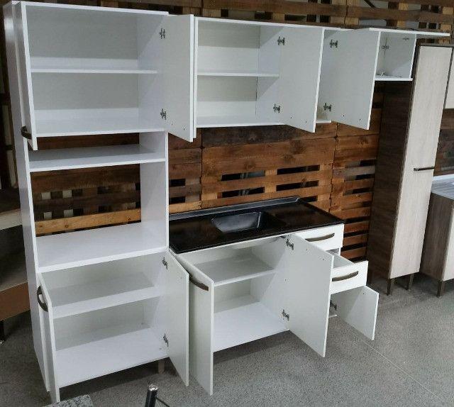 Cozinha Branca Completa Nova Pronta Entrega - Foto 4