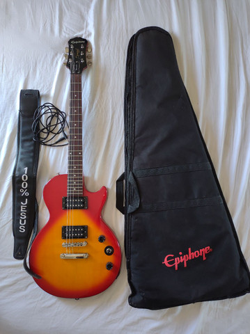 Guitarra Epiphone Les Paul Especial II - Foto 6