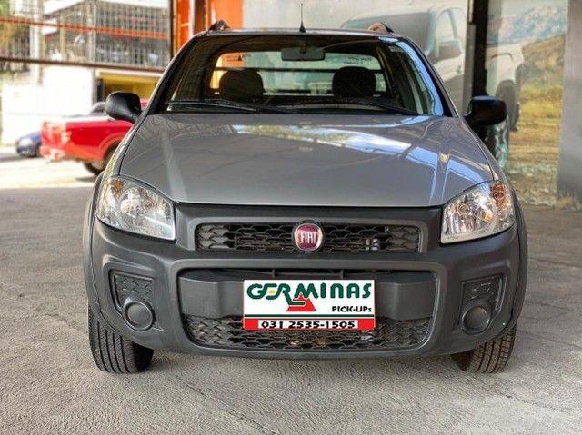 Fiat Strada Cab. Est. 1.4 8v Hard Working 1.4 Completa - Foto 3