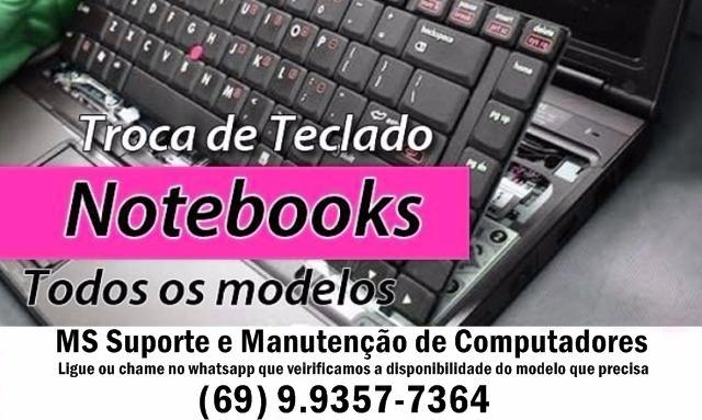 Teclados p/ Notebooks