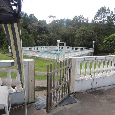 Chacara com piscina e lago - Foto 19
