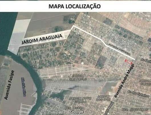 Terreno 10x30 300 m2 em frente a area institucional
