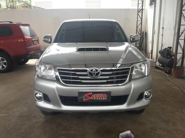 Toyota hilux srv 14/15 4x4 aut diesel. (93)991274495