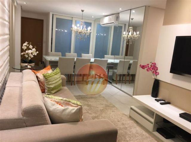 Excelente apartamento mobiliado com 2 quartos na Jatiúca - Ref.: B1560