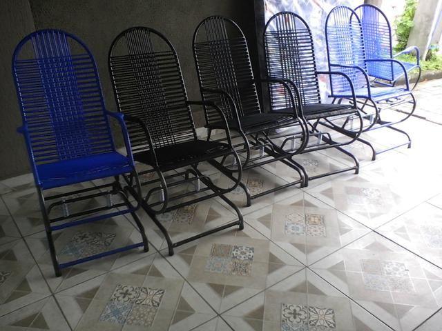 Cadeira de Balanço novas com molas