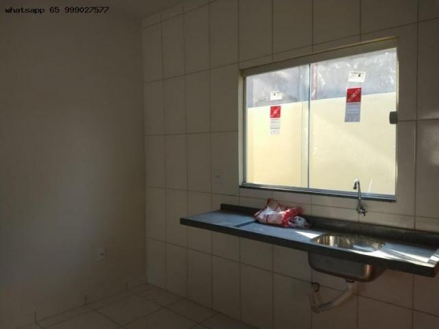 Casa para venda em várzea grande, santa isabel, 2 dormitórios, 1 banheiro, 2 vagas - Foto 6