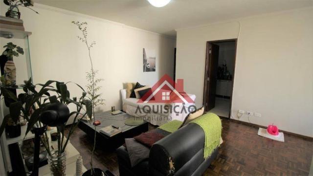 Apartamento com 3 dormitórios à venda, 87 m² por R$ 369.990,00 - Bigorrilho - Curitiba/PR - Foto 3