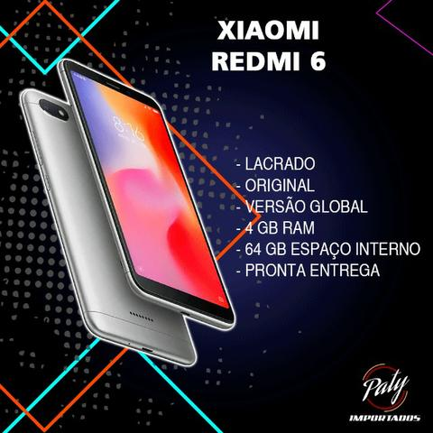 Redmi 6 // 64GB // Original // Pronta entrega // Lacrado // Versão global //
