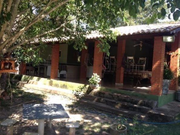 Chácara p/ lazer com piscina, passa o Rio Coxipo do Ouro, a 3km do asfalto