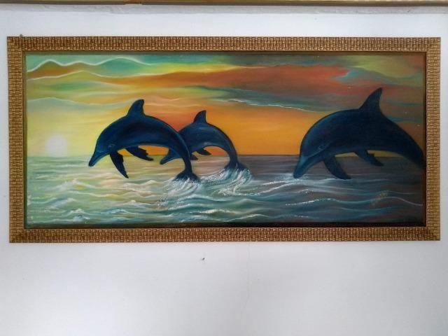 Tela Golfinhos - Foto 2