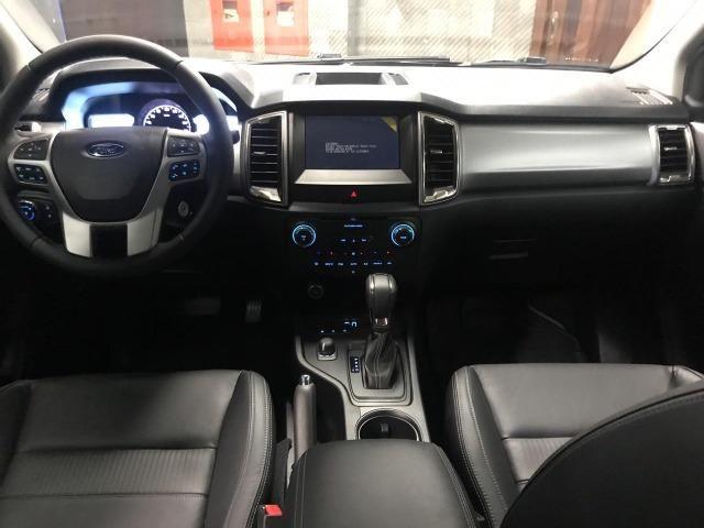 Ford Ranger Cab Dupla XLT 3.2 4x4 AUT - Diesel 2020 0KM - Polyanne * - Foto 10