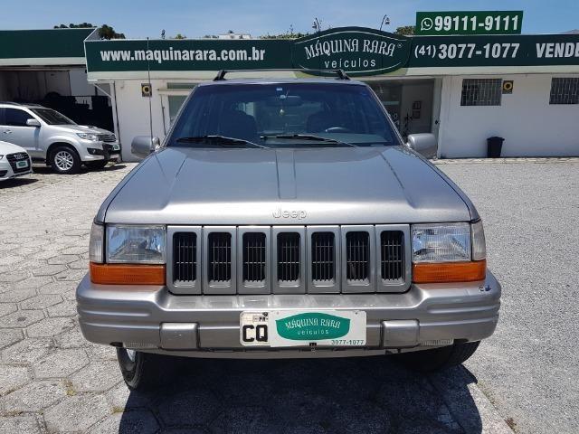 G. Cherokee limited 5.2 automática 4x4 5 passageiros gasolina
