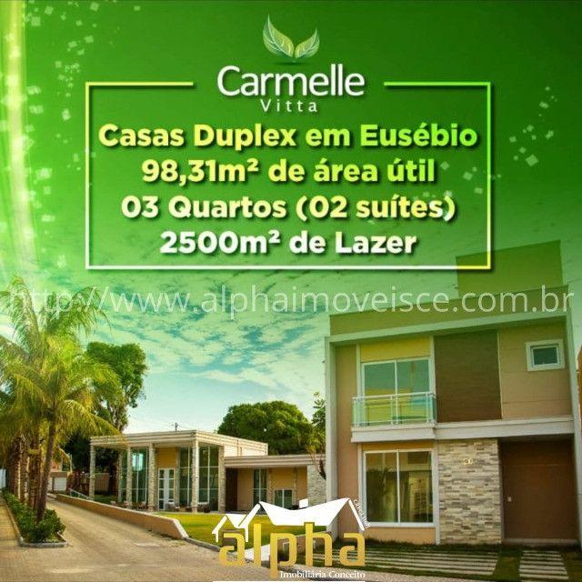 Casa Duplex em condominio Fechado no Eusebio
