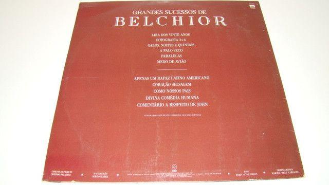 LP Vinil - Belchior - Grandes Sucessos - 1.991 - Foto 6