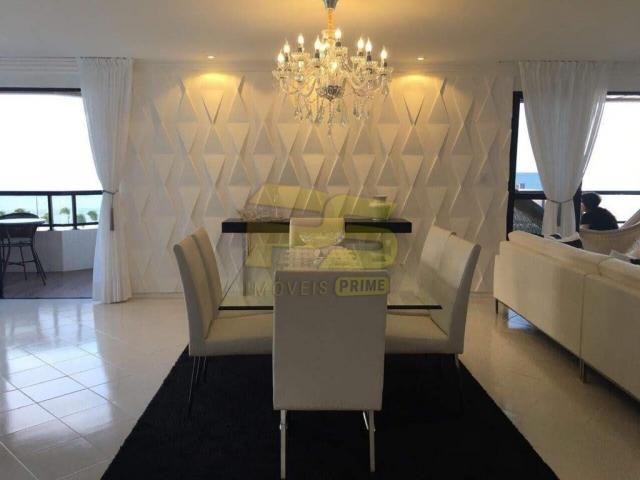 Apartamento à venda com 4 dormitórios em Cabo branco, João pessoa cod:PSP42 - Foto 17