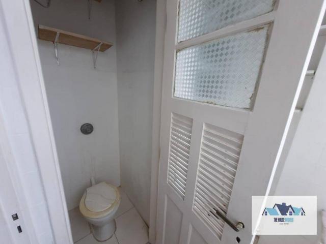 Excelente Apartamento com 1 dormitório 2 banheiros  para alugar, 50 m² por R$ 1.100/mês -  - Foto 5