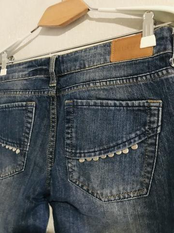 Calça jeans tachas Le Lis blanc - Foto 2
