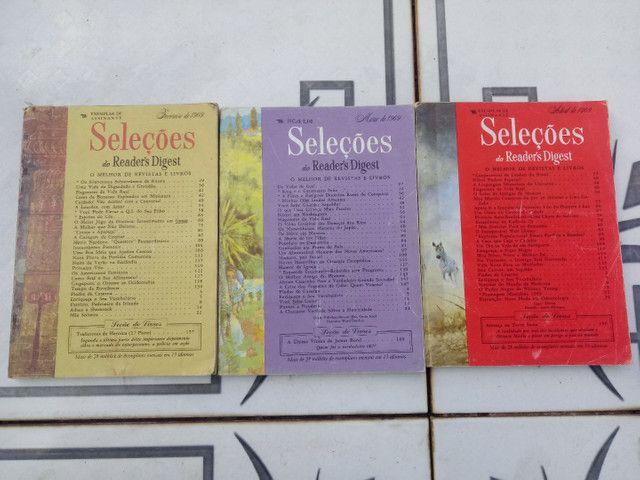 10 Revistas SELEÇÕES do ano de 1969 - Foto 2
