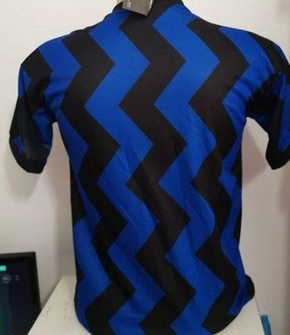 Camisa de time primeira limha g ou gg - Foto 3
