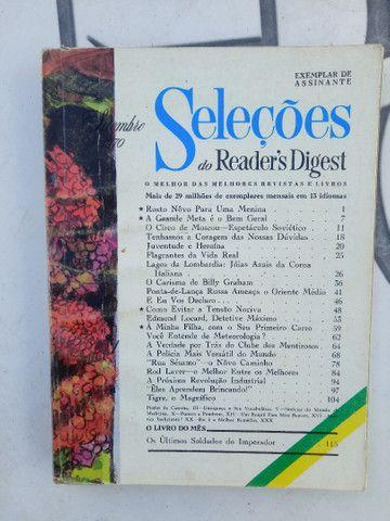 5 revistas SELEÇÕES de 1970. - Foto 3