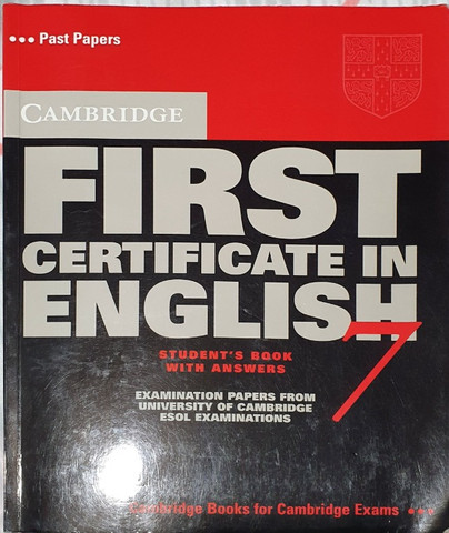First Certificate in English 7 - Student?s Book With Answers