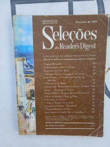 5 revistas SELEÇÕES de 1970. - Foto 6