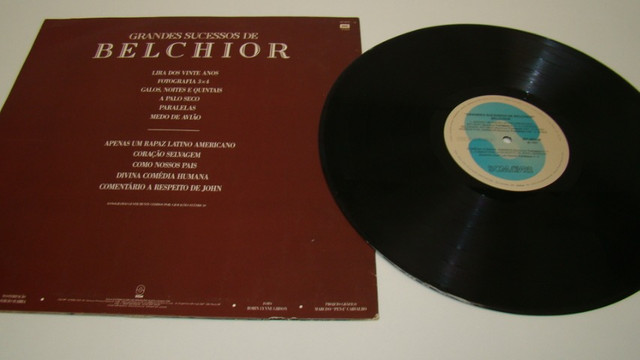 LP Vinil - Belchior - Grandes Sucessos - 1.991 - Foto 4