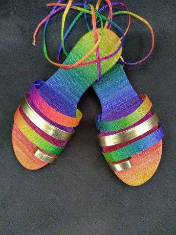 Sandálias - Rasteirinhas - Foto 4