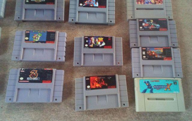 Jogos super Nintendo nitendo snes famicon n-64 - Foto 5