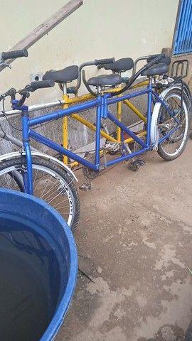 Bicicletas de duas e três pessoas - Foto 3