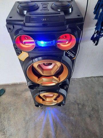 Caixa amplificada 1600w rms - Foto 5