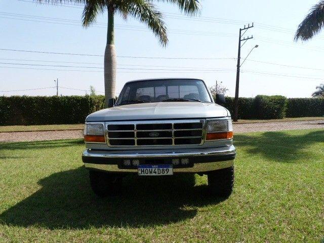 f1000 1998 xlt 4x2 motor mwm x10 - Foto 6