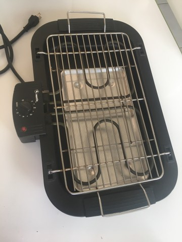 Churrasqueira elétrica 110v