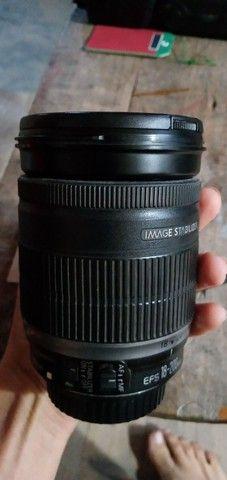 Vendo lente 18 200mm canon - Foto 3