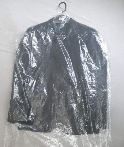 Blazer Slim Fit 46 / M Cia do Terno. Preto. Novo. Zero. No plástico! - Foto 6