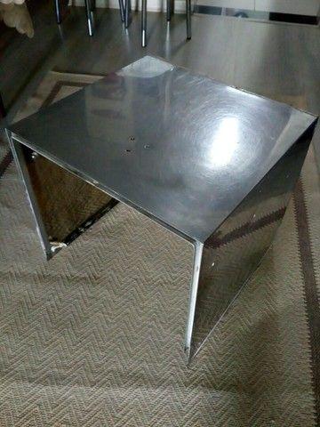 Peça de aço inox 3 lados - Foto 2