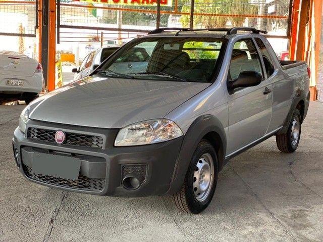 Fiat Strada Cab. Est. 1.4 8v Hard Working 1.4 Completa - Foto 8