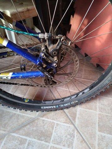 Vendo bike com amortecedor freio a disco - Foto 5