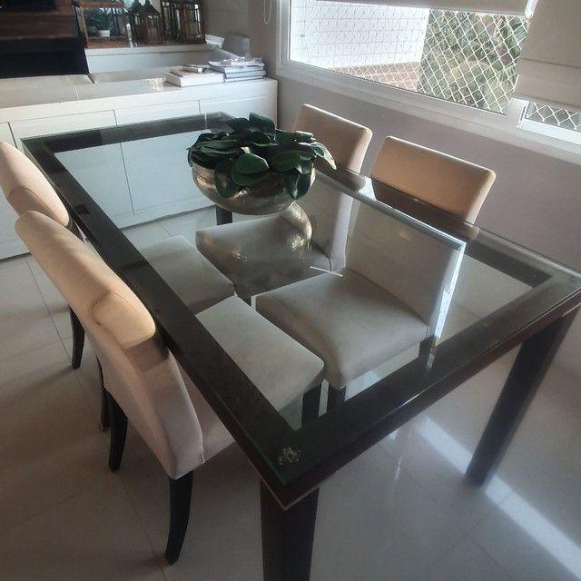 Mesa jantar e 4 cadeiras - Foto 2