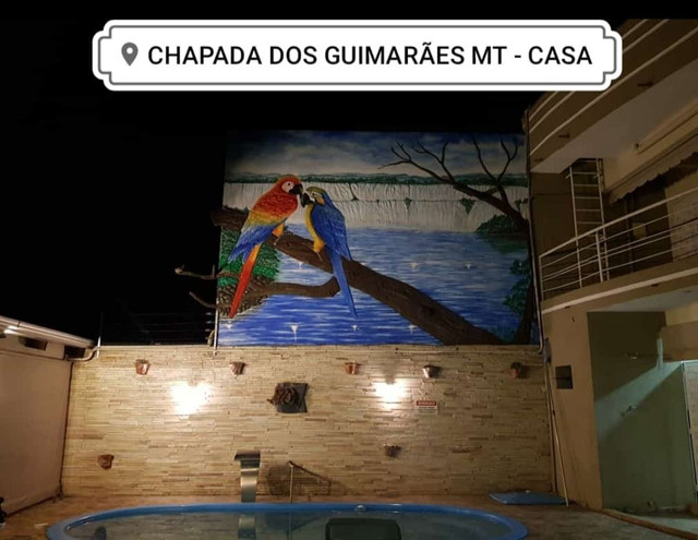 Casa das Araras - Chapada dos Guimarães - Locação para Temporada - 04 Quartos c/ piscina - Foto 15