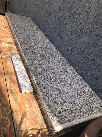 Pedra mármore Balcão 2 metros por 40cm nova sem detalhes - Foto 2