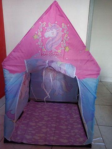 Casinha infantil na caixa