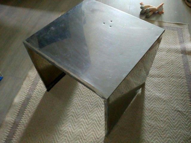 Peça de aço inox 3 lados - Foto 4