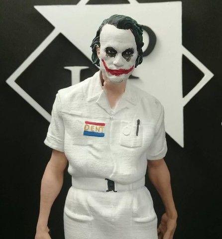 Colecionável Coringa (Joker) Heath ledger Batmam O Cavaleiro das Trevas - Foto 6