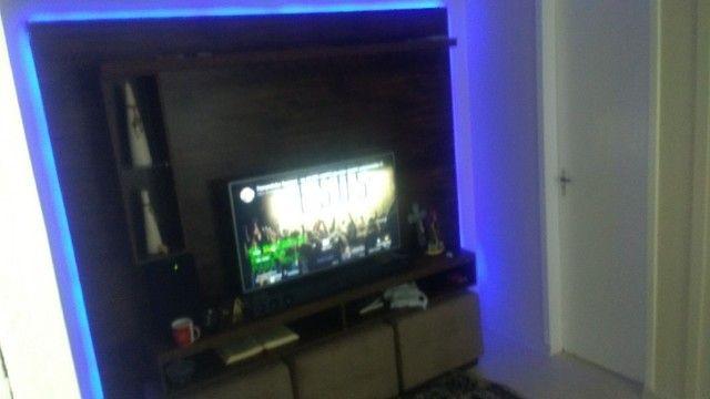 Painel para TV rústico - Foto 4