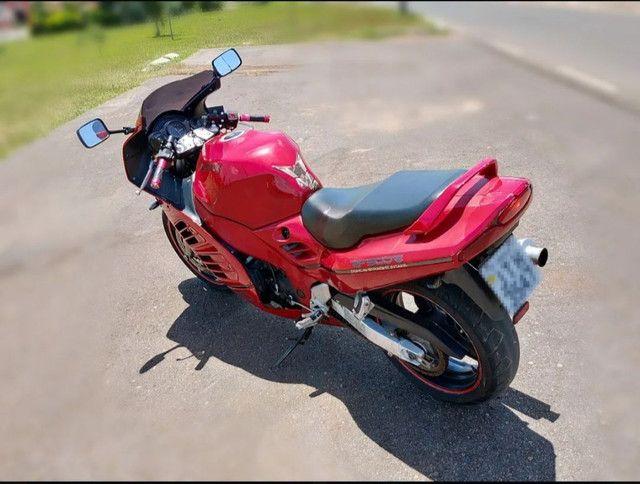 Moto Esportiva Suzuki Rf900r Vermelha<br><br> - Foto 6