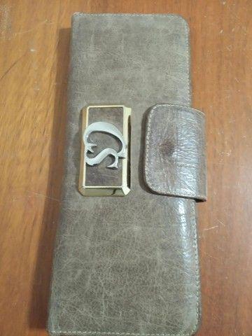 Vendo essa linda carteira Carmen Stephanie