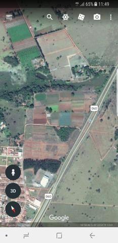 Area de 5 alqueires em Guapó na expansão urbana