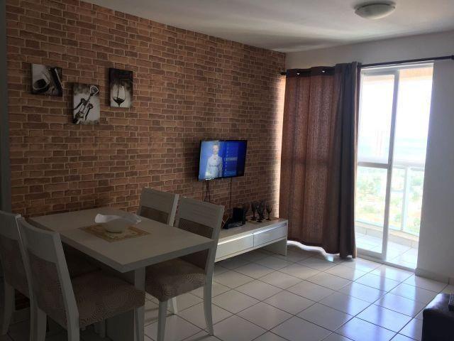 Excelente apartamento 02 quartos mobiliado em Ponta negra 2.500